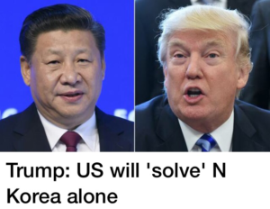 Japan, US & Mr Trump ready to solve North Korea