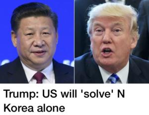 Japan, US & Mr Trump ready to solve North Korea