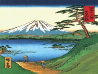 mt-fuji-artkatsushita-hokusai-a-green-hilly-view-of-mt-fuji-over-a-lake-76hl7gkl.jpg